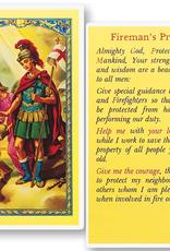 WJ Hirten St. Florian (Firefighter's Prayer) Holy Cards (25/pk)