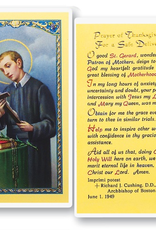 WJ Hirten St. Gerard (Prayer of Thanksgiving for a Safe Delivery) Holy Cards (25/pk)