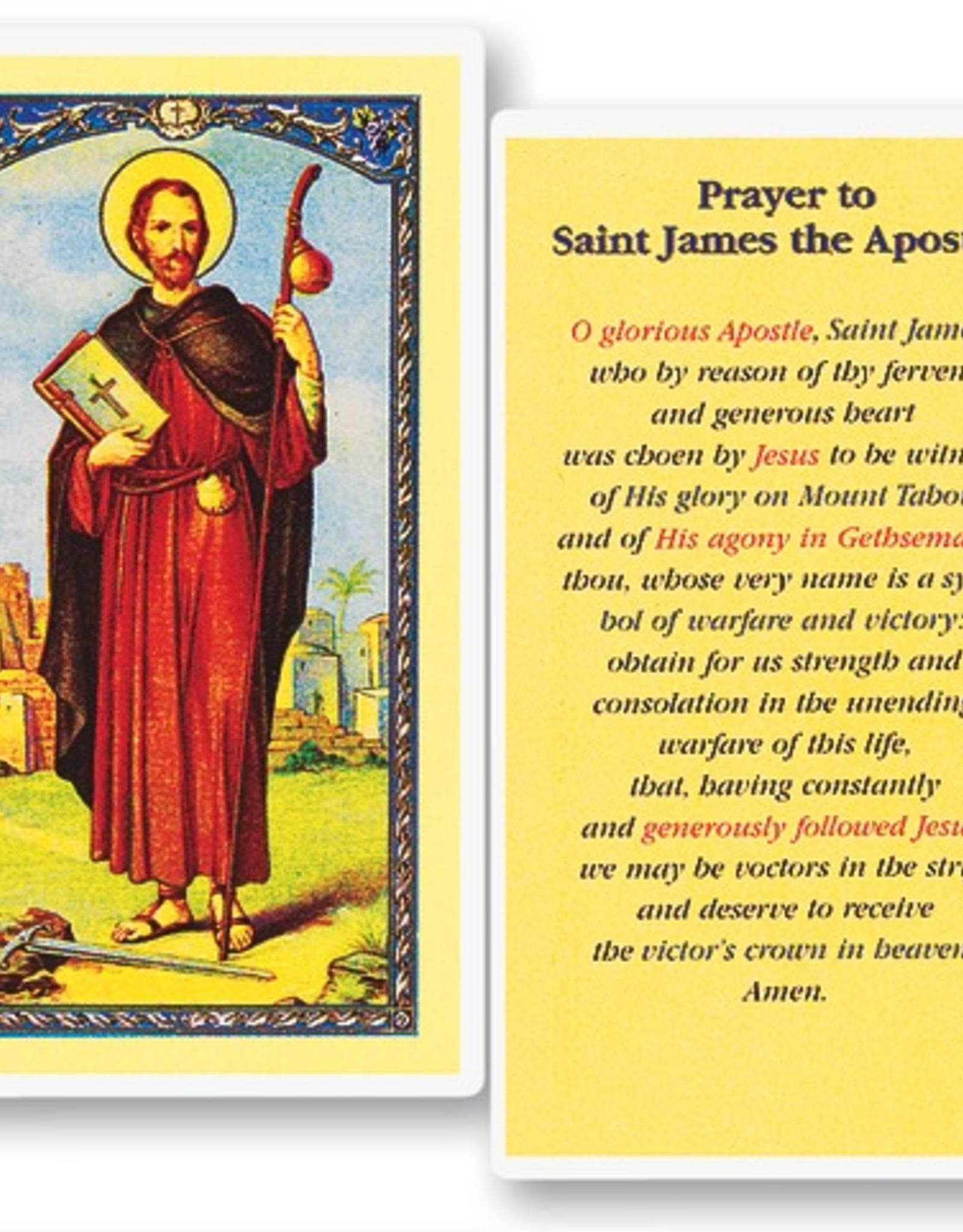 WJ Hirten St. James the Apostle Holy Cards (25/pk)