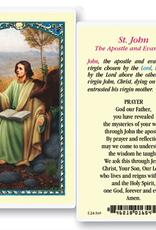 WJ Hirten St. John the Evangelist Holy Cards (25/pk)