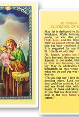 WJ Hirten St. Joseph (Protector of Homes) Holy Cards (25/pk)