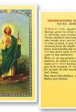 WJ Hirten St. Jude (Thanksgiving Novena) Holy Cards (25/pk)