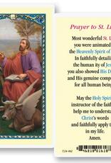 WJ Hirten St. Luke Holy Cards (25/pk)