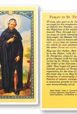 WJ Hirten St. Peregrine Holy Cards (25/pk)