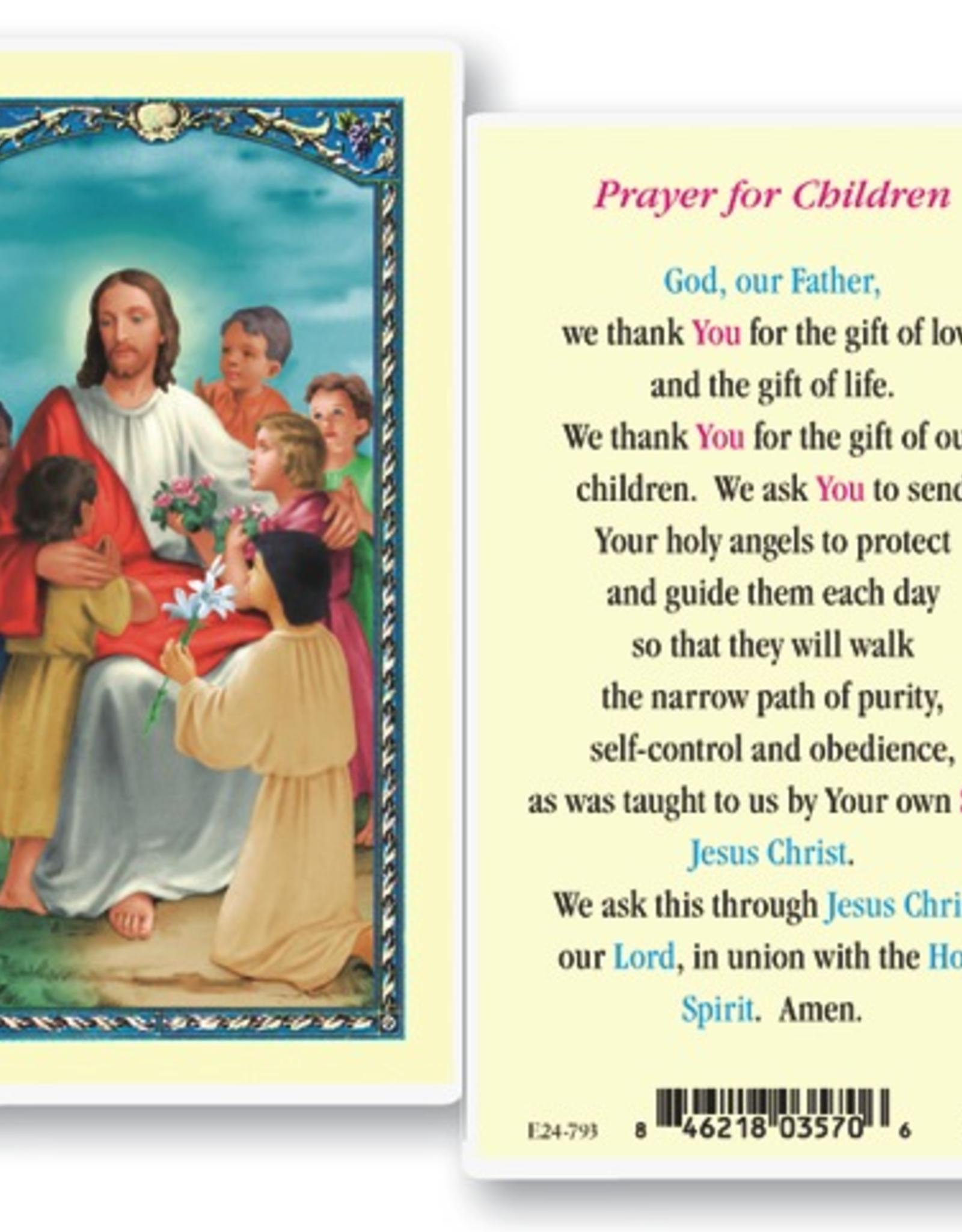 WJ Hirten Prayer for Children Holy Cards (25/pk)