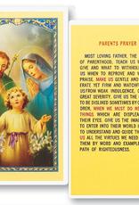 WJ Hirten Parents Prayer Holy Cards (25/pk)