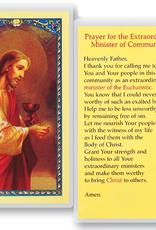 WJ Hirten Prayer for the Extraordinary Minister of Communion Holy Cards (25/pk)