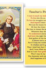 WJ Hirten Teacher's Prayer Holy Cards (25/pk)