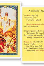 WJ Hirten A Soldier's Prayer Holy Cards (25/pk)