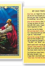 WJ Hirten My Daily Prayer Holy Cards (25/pk)