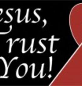 Nelson/Catholic to the Max Jesus, I Trust in You Vinyl Bumper Sticker