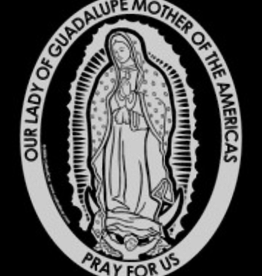 Nelson/Catholic to the Max Our Lady of Guadalupe Car Window Decal