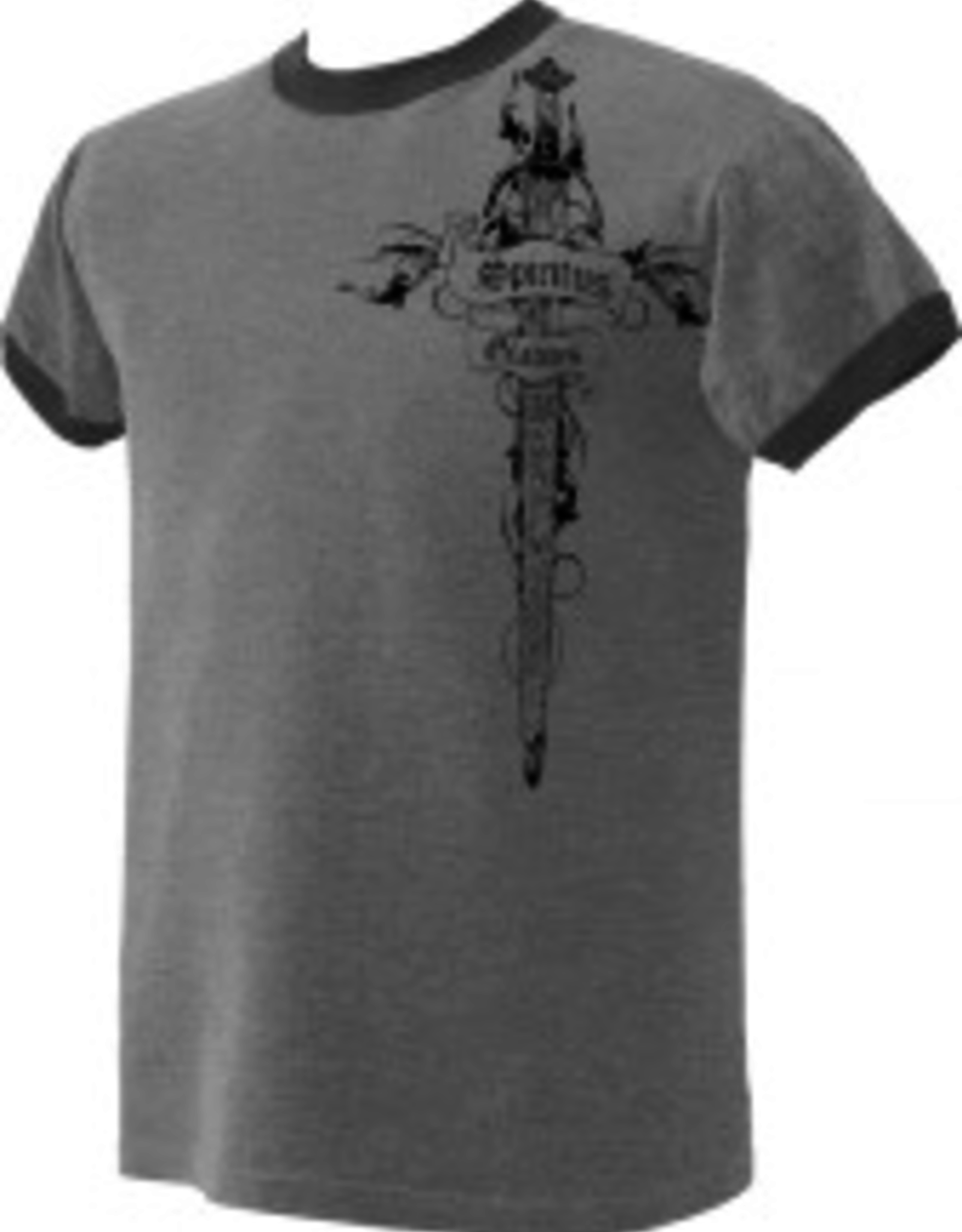 Nelson/Catholic to the Max Spiritus Gladius Ringer T-Shirt