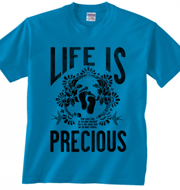 Nelson/Catholic to the Max Life is Precious T-shirt