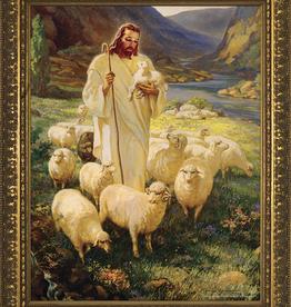 Nelson/Catholic to the Max Good Shepherd Framed Image in Gold Frame 5 x 7Ì¢‰âÒ