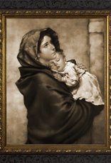 Nelson/Catholic to the Max Madonna of the Streets Framed Image in Standard Gold Frame 8 x 10‰Û