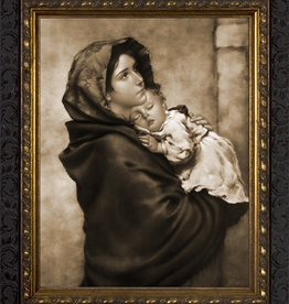 Nelson/Catholic to the Max Madonna of the Streets Framed Image in Standard Gold Frame 8 x 10Ì¢‰âÂå