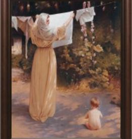 Nelson/Catholic to the Max Polish Madonna Framed Image Cherry Frame 5.5 x 8.5