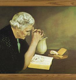 "Nelson/Catholic to the Max Gratitude Framed Image in Oak Frame 10 x 13.5"""