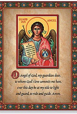 "Monastery Icons 8"" x 10"" Guardian Angel Prayer Icon"