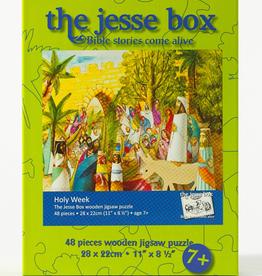 Ignatius Press Jesse Box: Holy Week Wooden Jigsaw Puzzle