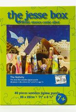 Ignatius Press Jesse Box:  Nativity Wooden Jigsaw Puzzle