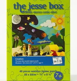Ignatius Press Jesse Box: Creation Wooden Jigsaw Puzzle