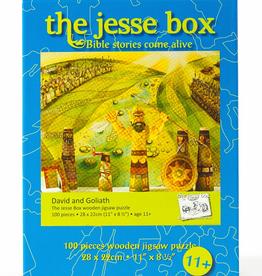 Ignatius Press Jesse Box: David & Goliath Wooden Jigsaw Puzzle