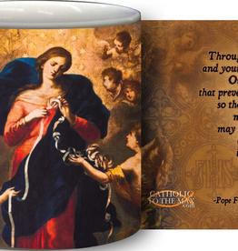 Nelson/Catholic to the Max Mary Undoer of Knots/Pope Francis Coffee Mug