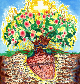 Dovetail Ink Dovetail Ink: Anniversary Gift w/ Sacred Heart (8x10 print)