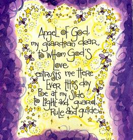 Dovetail Ink Dovetial Ink: Angel of God Baptism Gift Cards for Girls (8pk. 8 envelopes)