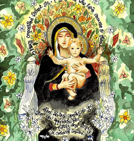Dovetail Ink Dovetail Ink: Our Lady of the Lilies (5x7 print)