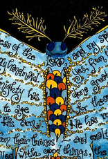 Dovetail Ink Dovetail Ink:  Magnificat Prayer Art w/ Butterfly (11x14 print)