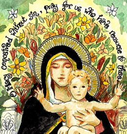 Dovetail Ink Dovetail Ink: Our Lady of the Lilies (8x10 print)