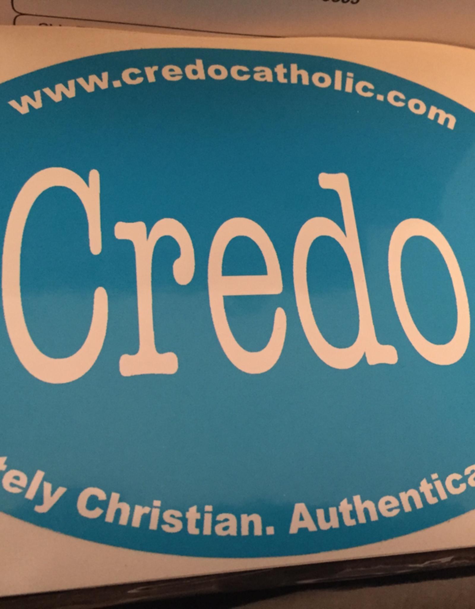 Credo Catholic Credo Catholic Bumper Sticker