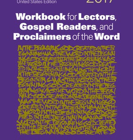 Liturgical Training Press Workbook for Lectors, Gospel Readers, and Proclaimers of the Word 2017 (USA)