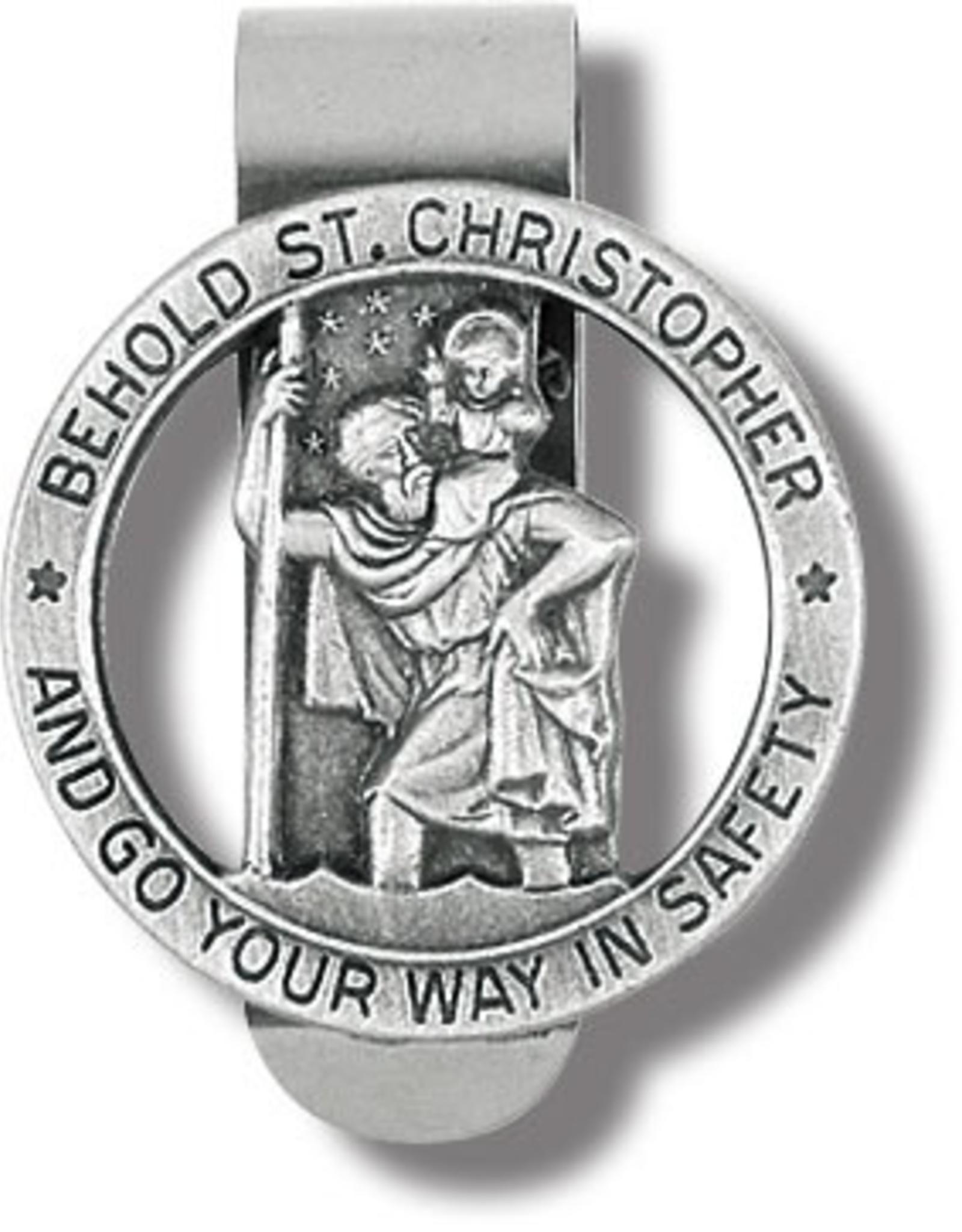 WJ Hirten St Christopher Visor Clip