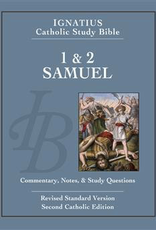 Ignatius Press 1 & 2 Samuel:  Ignatius Catholic Bible Study, by Curtis Mitch and Scott Hahn (paperback)