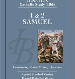 Ignatius Press 1 & 2 Samuel: Ignatius Catholic Bible Study, by Curtis Mitch and Scott Hahn (paperback)