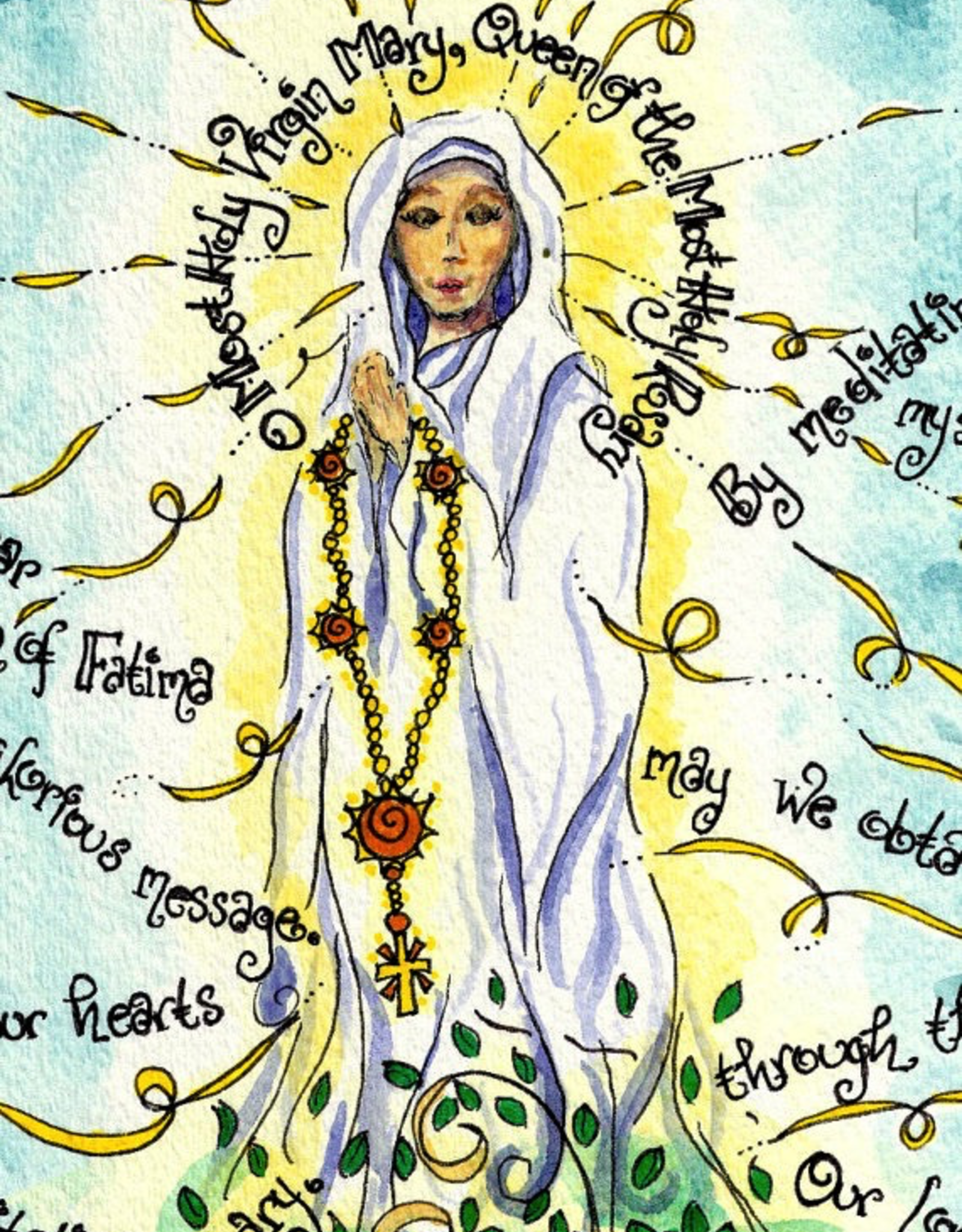 Dovetail Ink Dovetail Ink:  Our Lady of Fatima Print