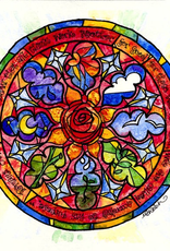 Dovetail Ink Dovetail Ink:  Romans Stained Glass Illustration (12x12 print only)