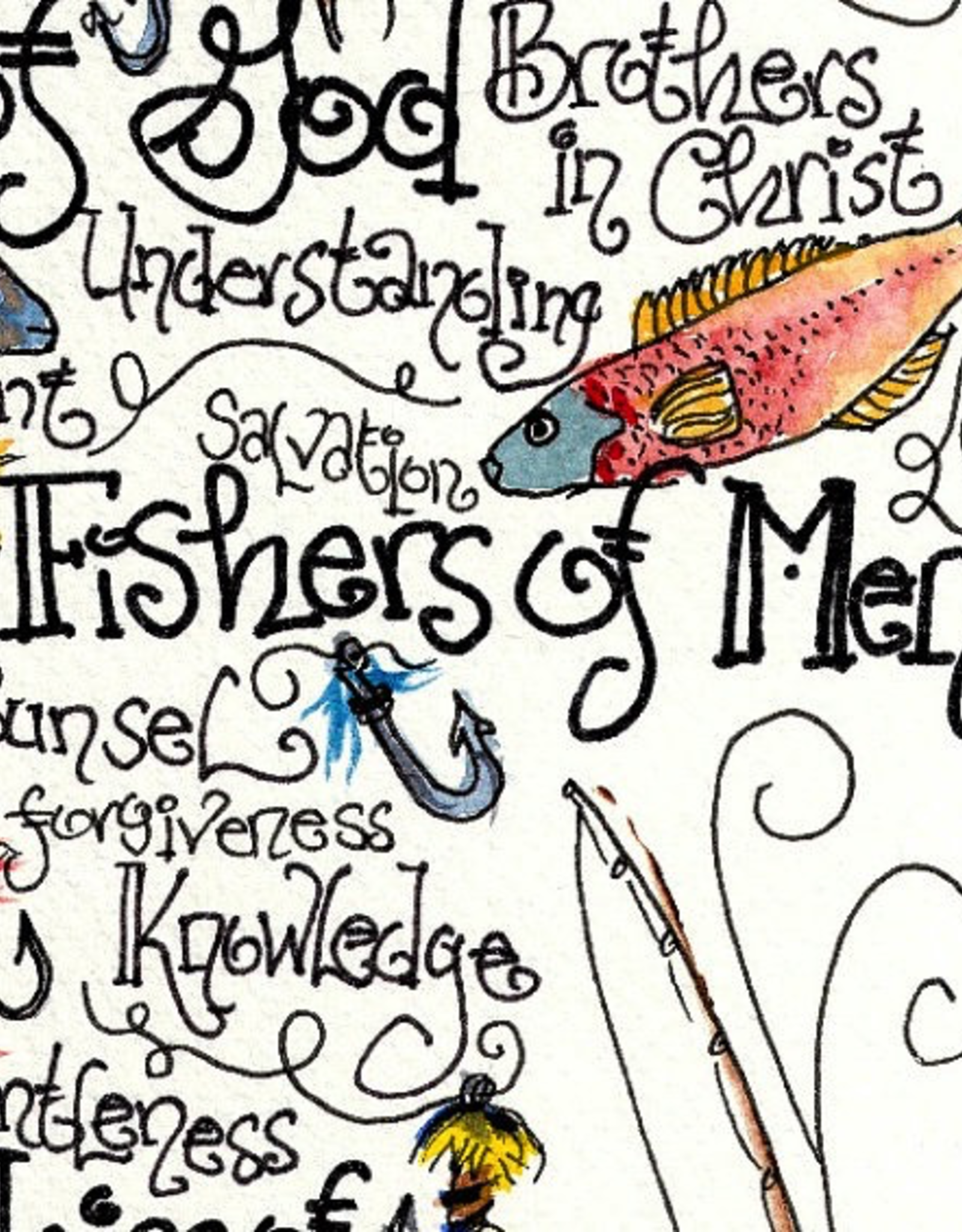 Dovetail Ink Dovetail Ink:  Fisher's of Men Print