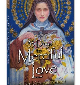 Marian Helpers 33 Days to Merciful Love: A Do-It Yourself Retreat In Preparation for Concecration to Divine Mercy, by Father Michael Gaitley (paperback)