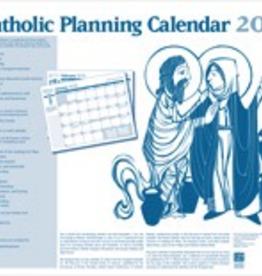 Liturgical Training Press The Catholic Planning Calendar 2018