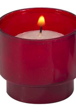 Will and Baumer 6 hr. Red Brite-Lite Votive Candles (molded) (10 pk) (tea light)