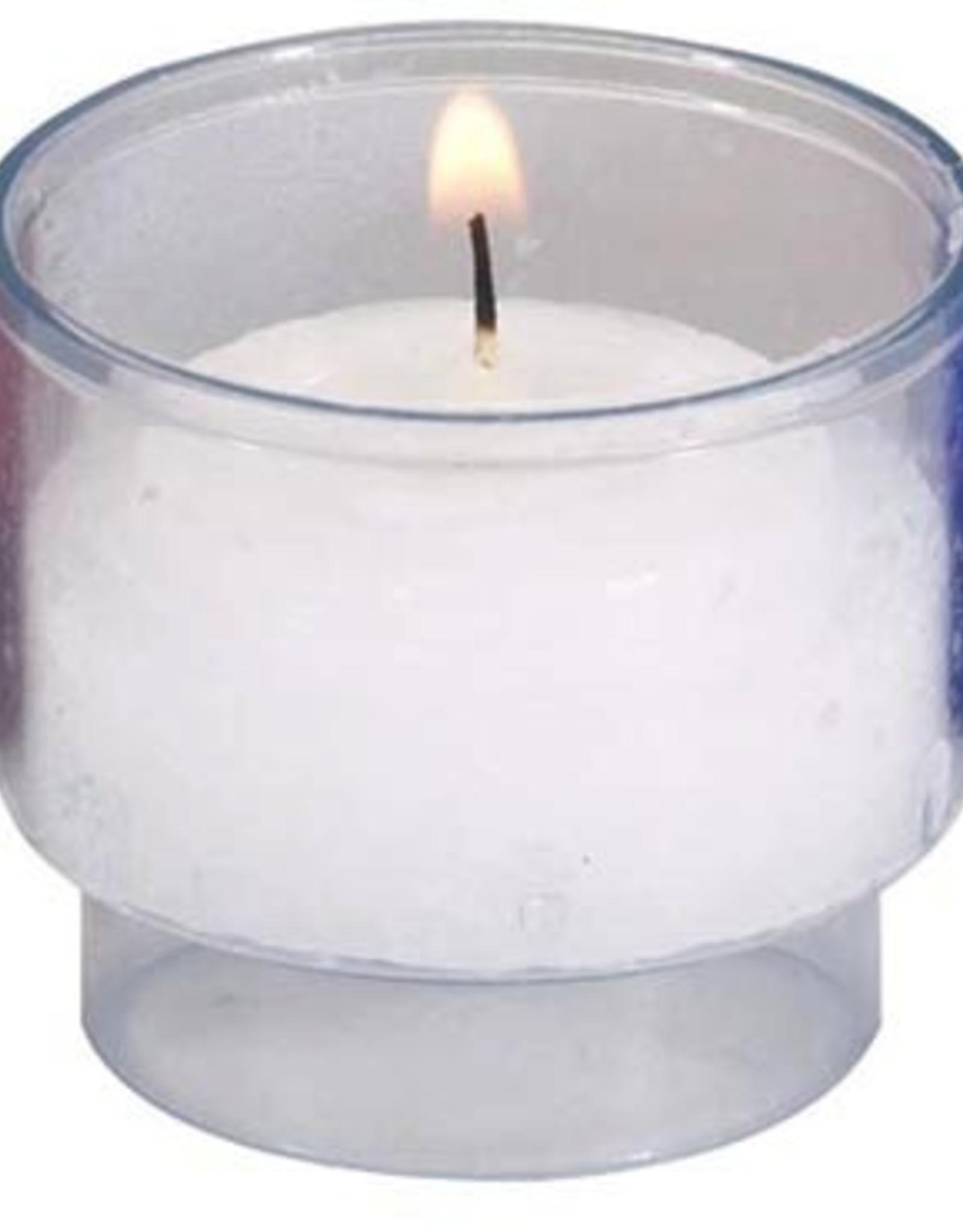 Will and Baumer 6 hr. White Brite-Lite Votive Candles (molded) (10 pk) (tea light)