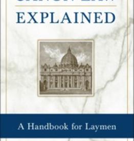 Sophia Institute Canon Law Explained, by Fr. Laurence J. Spiteri (paperback)