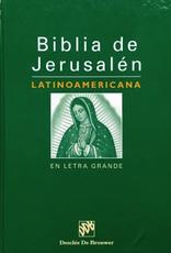 Liguori Biblia de Jerusalén Latinoamericana en Letra Grande
