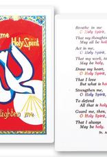 WJ Hirten Holy Spirit-- Enlighten Holy Cards (25/pk)