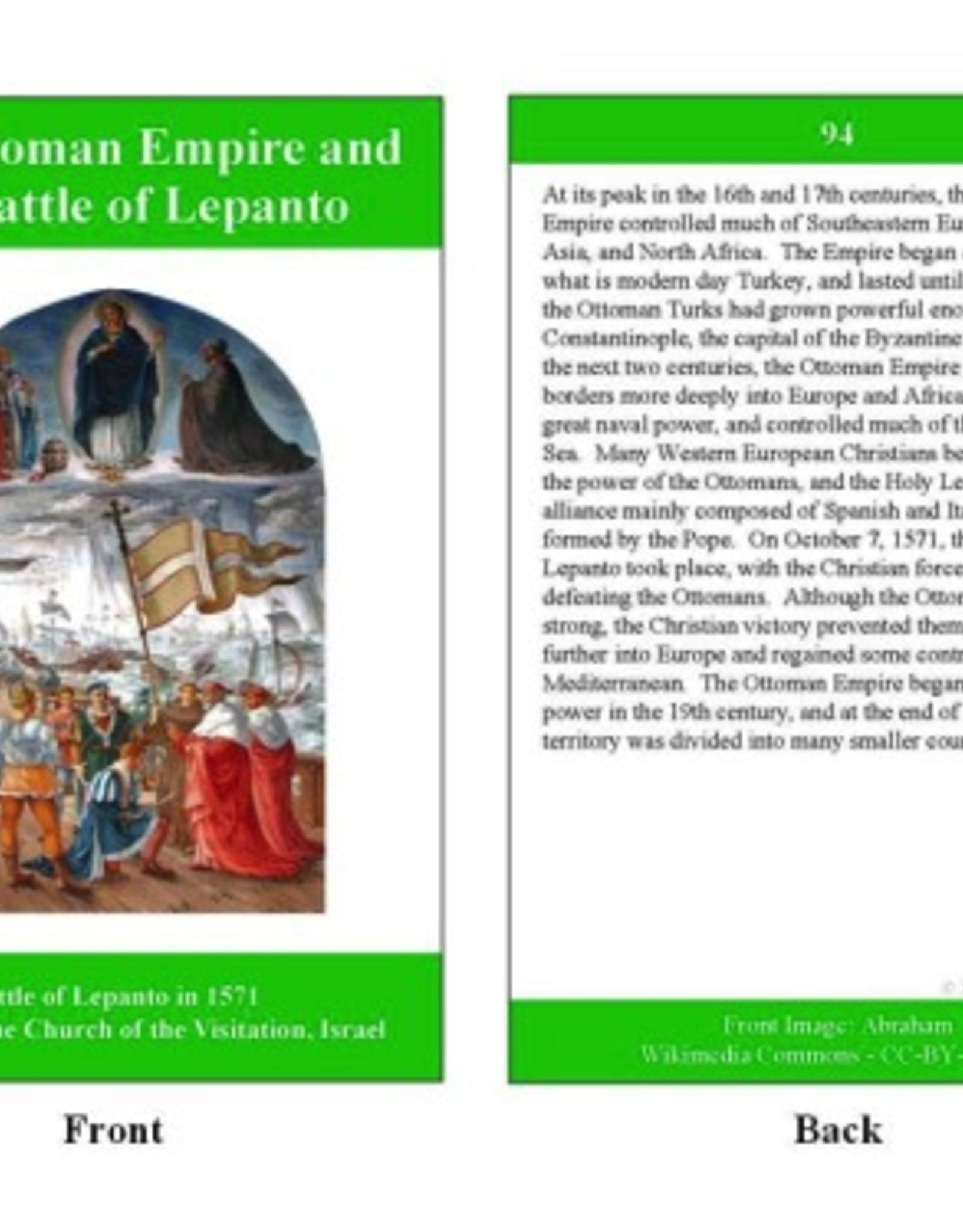 Ignatius Press Classically Catholic Memory Timeline Cards